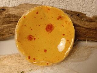 Keramik Schale in gelb-orange