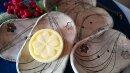 Keramik Seifenschale-Blümchen