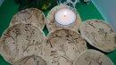 Keramik Schale Knospe-Natur