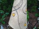 Keramik Beetstecker-Insektenhotel mit Herz