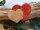 Keramik- Herz in Herz