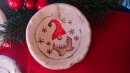 Keramik Schale mit Wichtel