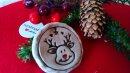 Keramik Elch Anhänger